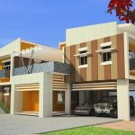 89 Models Beautiful Modern Exterior House Paint 32