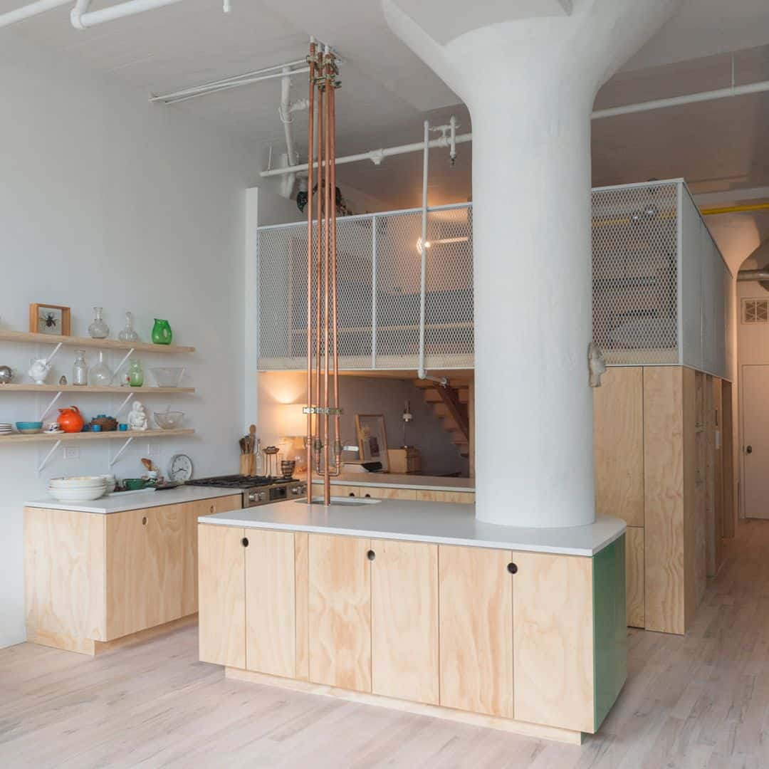 Mattress Stuy Loft: A Renovated Apartment With Loft Transformation And A
