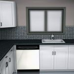 Beautifull Totally Modern Black And White Kitchen 1