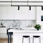 Beautifull Totally Modern Black And White Kitchen 19