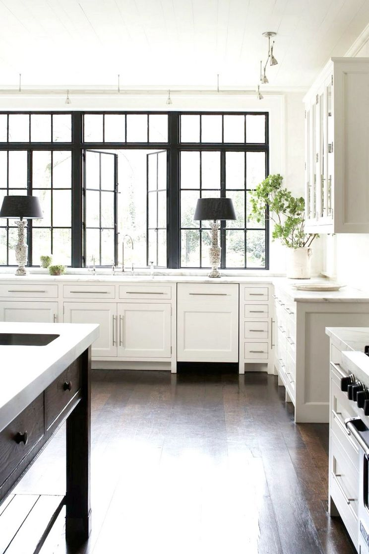 Beautifull Totally Modern Black And White Kitchen 29