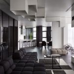 Beautifull Totally Modern Black And White Kitchen 33