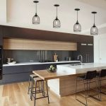 Beautifull Totally Modern Black And White Kitchen 35