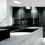 Beautifull Totally Modern Black And White Kitchen 37