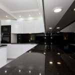 Beautifull Totally Modern Black And White Kitchen 5