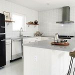 Beautifull Totally Modern Black And White Kitchen 50