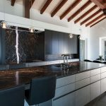 Beautifull Totally Modern Black And White Kitchen 59