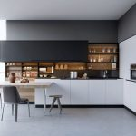 Beautifull Totally Modern Black And White Kitchen 63