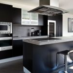 Beautifull Totally Modern Black And White Kitchen 66