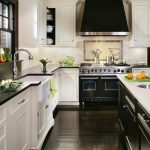 Beautifull Totally Modern Black And White Kitchen 71