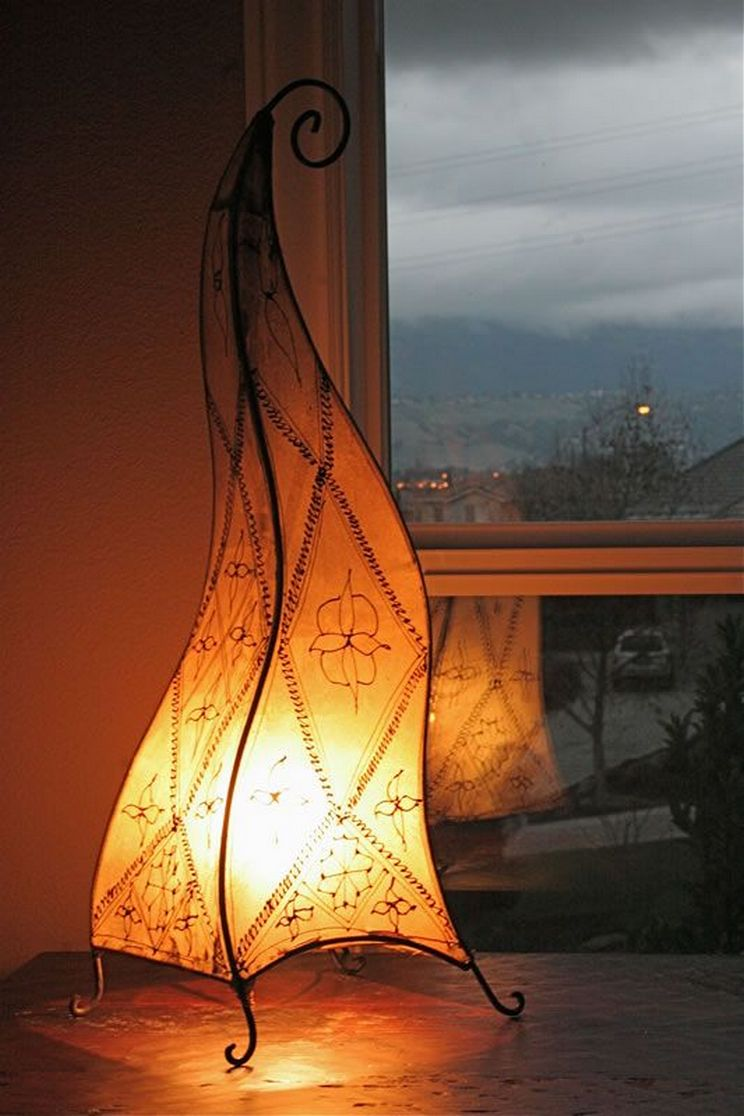Breathtakingly Beautiful Moroccan Henna Lamps 7