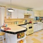 Tips For Creating Beautiful Black Or White Retro Themed Kitchens 36