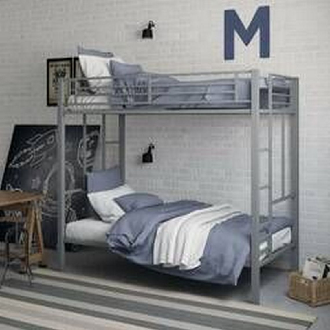 48 Popular Models Of Adult Bunk Bed Designs 22