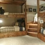 48 Popular Models Of Adult Bunk Bed Designs 30