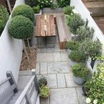 91 Small Backyard Landscape Decoration Models Are Simple And Look Creative 5