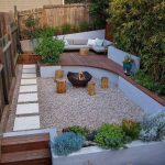 91 Small Backyard Landscape Decoration Models Are Simple And Look Creative 69