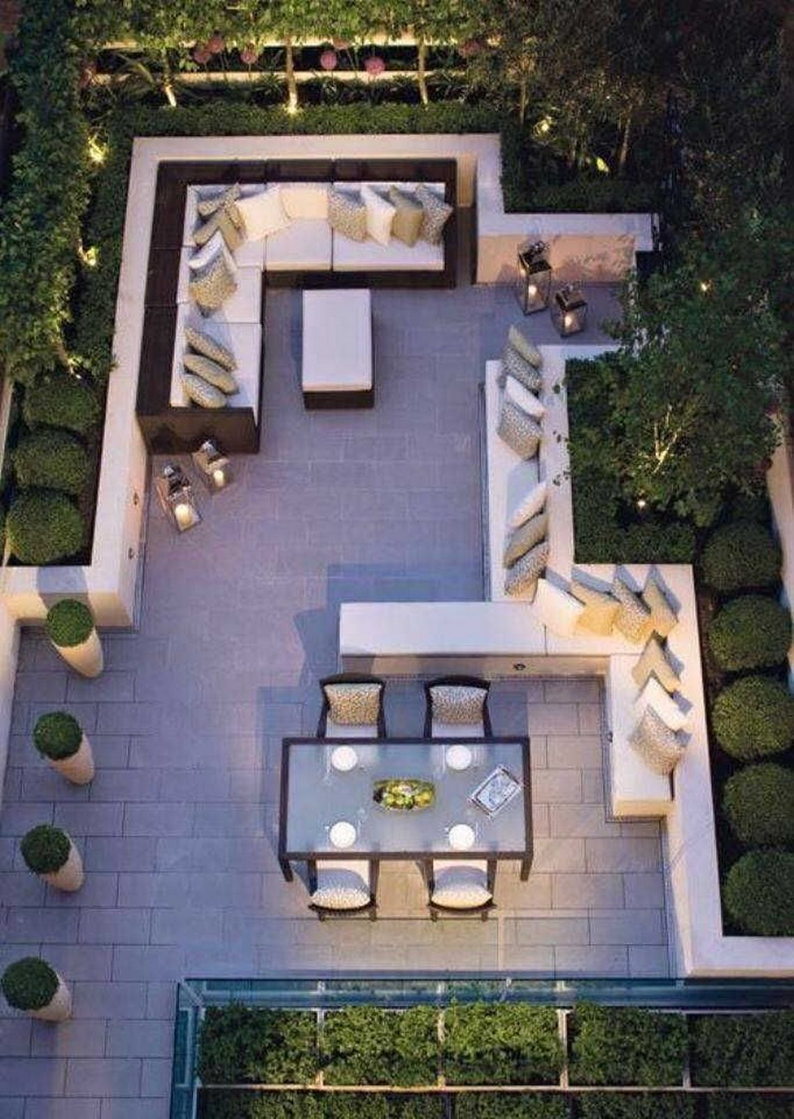 91 Small Backyard Landscape Decoration Models Are Simple And Look Creative 88