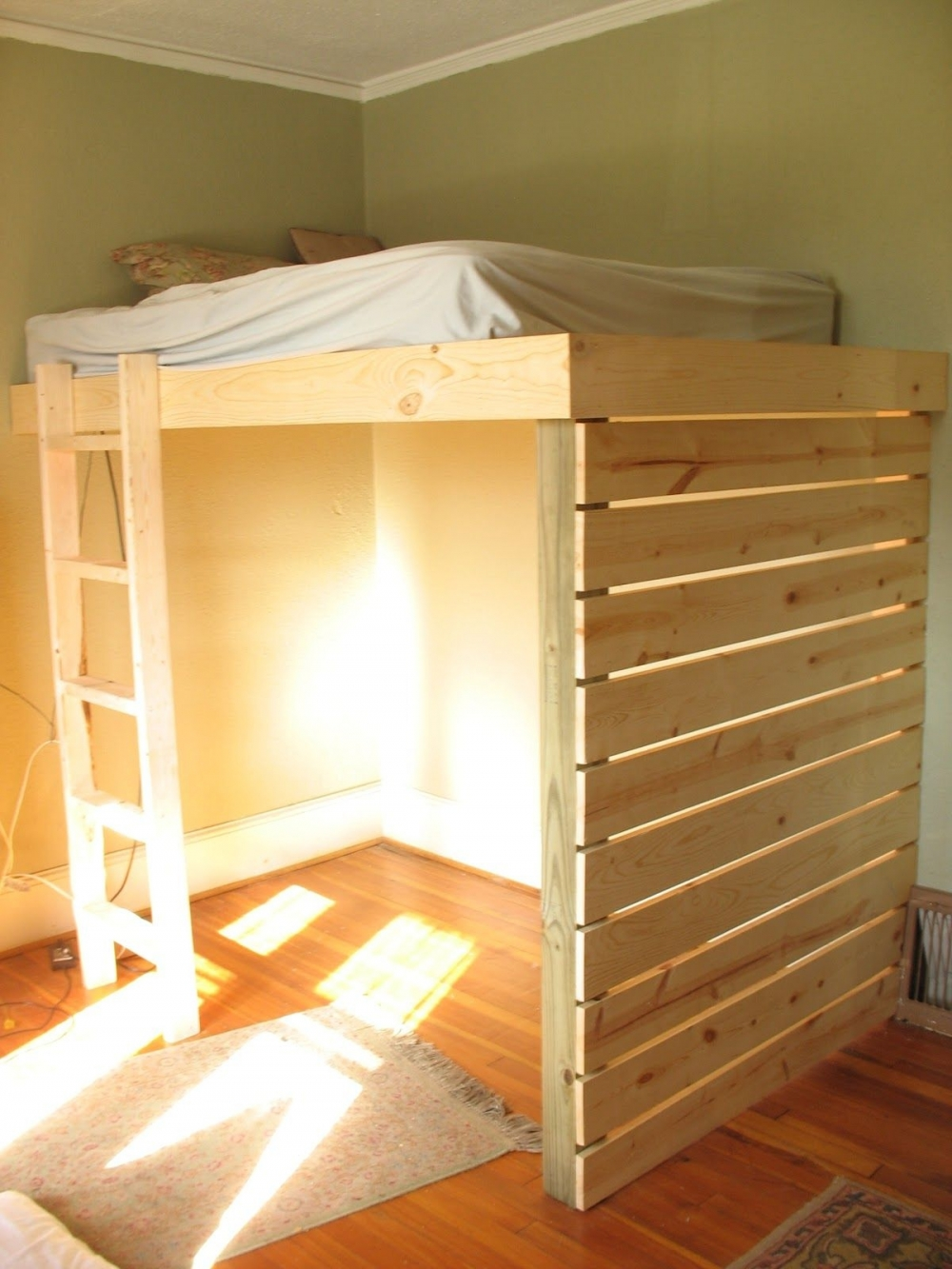 Irresistible Bunk Bed with Desk and Drawers On