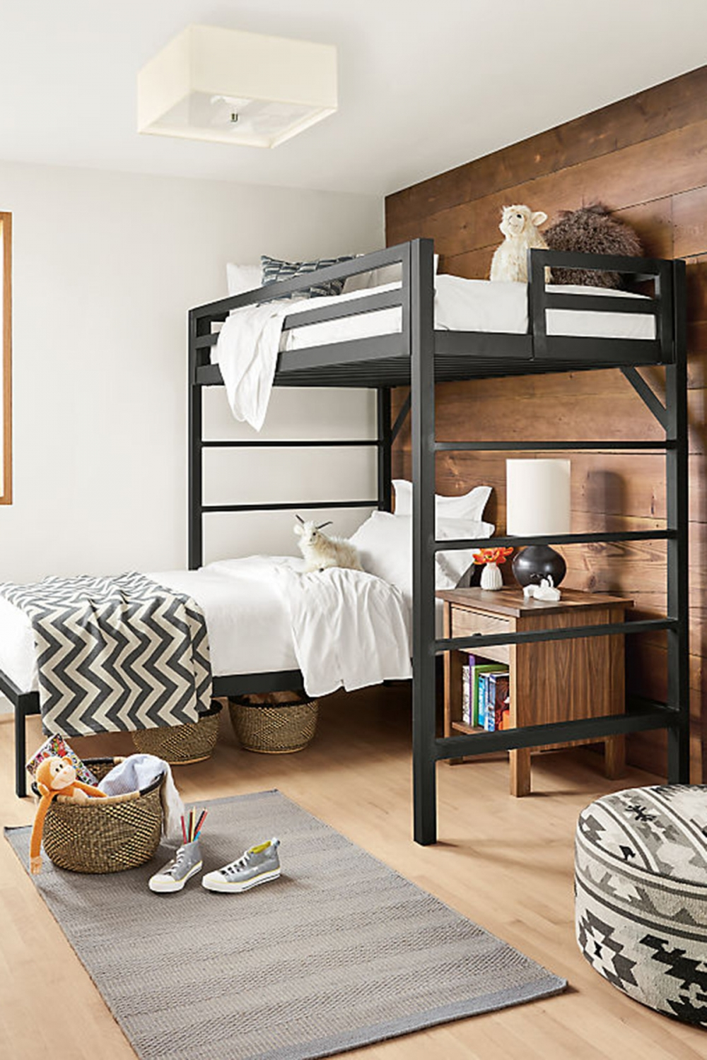 on Bunk Bed with Desk and Drawers id=15684