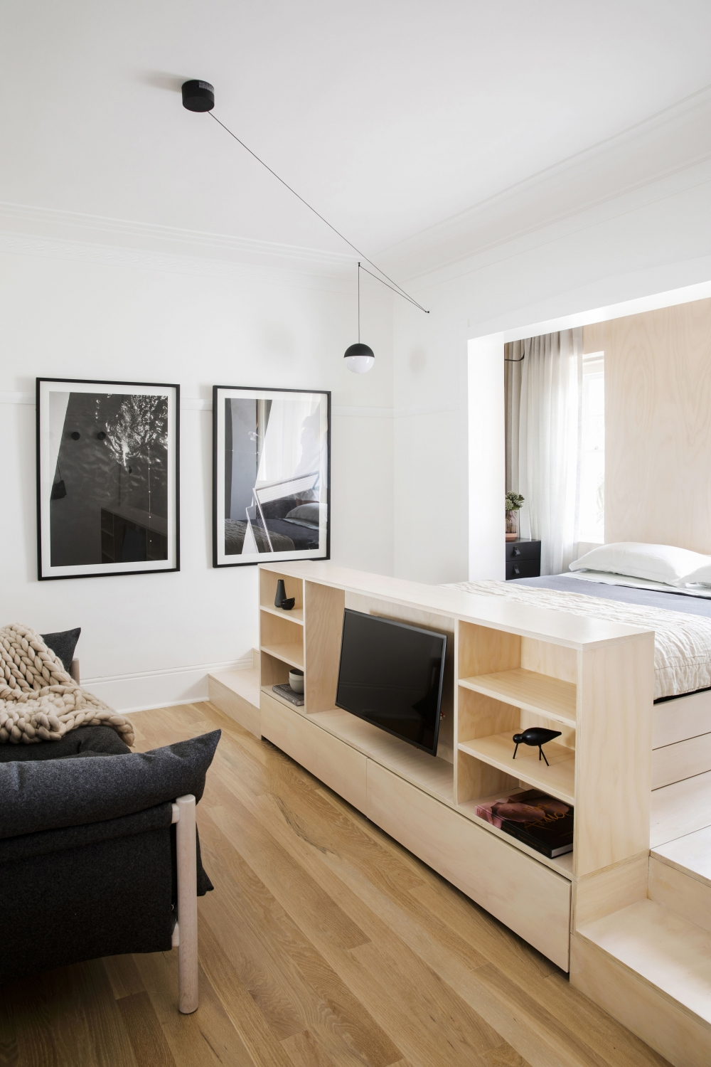 Artistic Small Apartment Design On