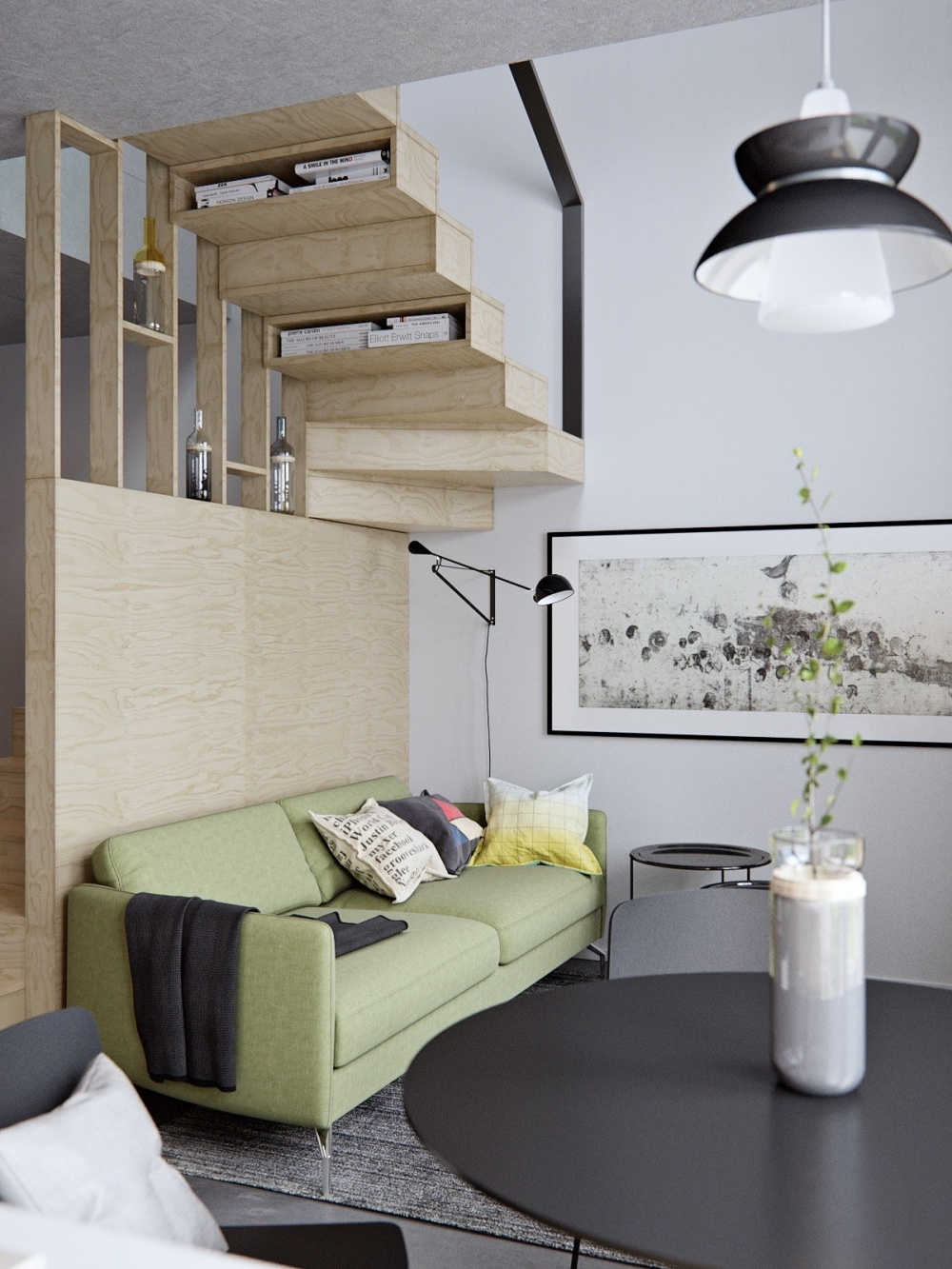 Stupendous Small Apartment Design On