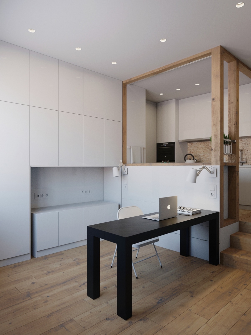 Incredible Small Apartment Design On