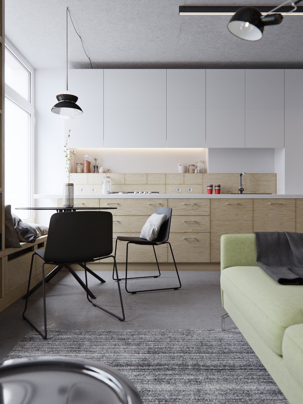 on Studio Apartment Design id=15876