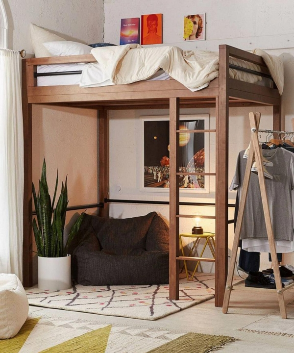 Amazing Bunk Bed with Desk for Adults On