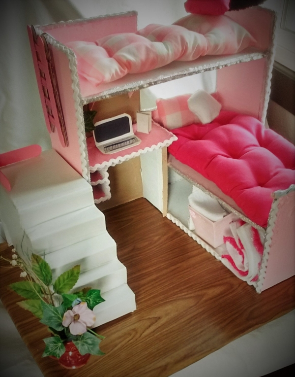 on Bunk Bed with Desk for Girl id=16140