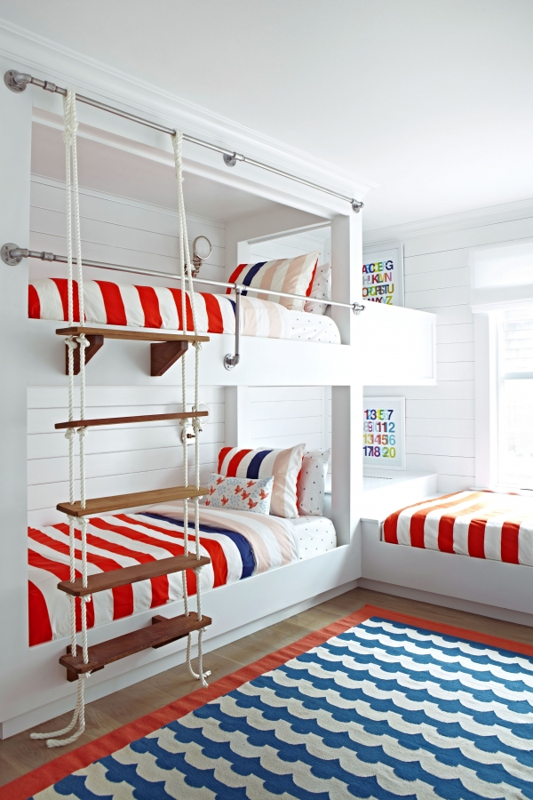 on Bunk Bed with Desk for Girl id=16154