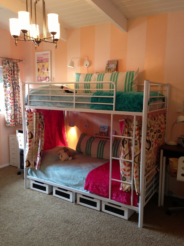 on Bunk Bed with Desk for Girl id=16122