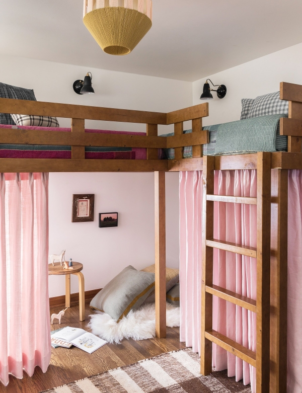 on Bunk Bed with Desk for Girl id=16125