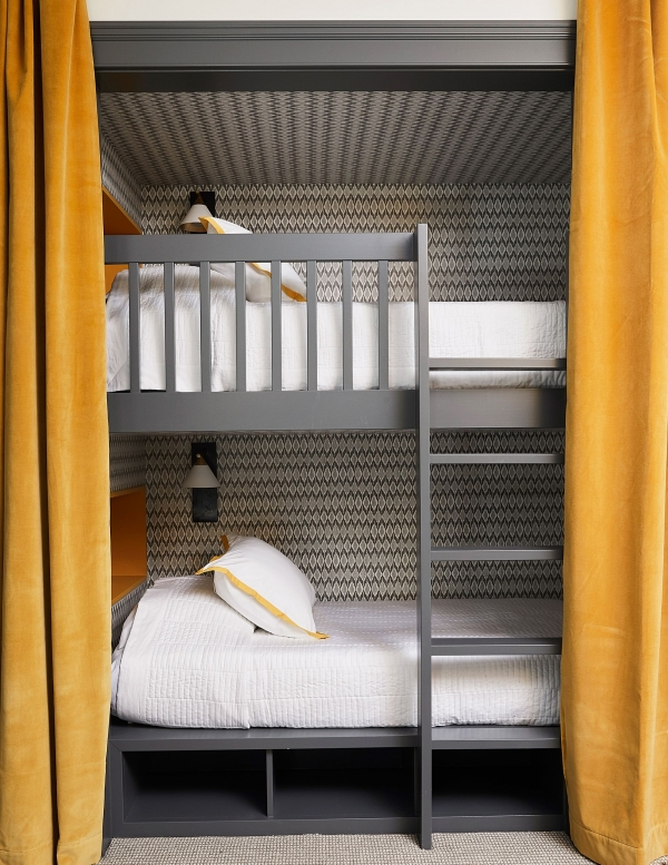 -of-bunk Beds with Desk and Stairs-of-bunk Beds with Desk and Stairs