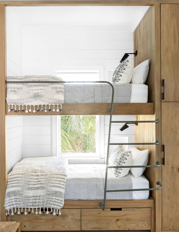 Extraordinary Bunk Beds with Desk Underneath On