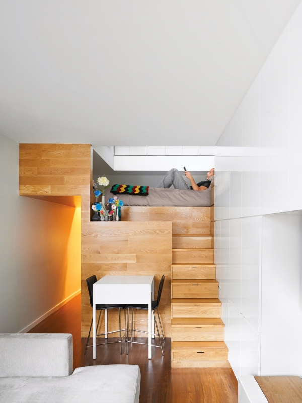 Fanciable Bunk Beds with Desk Underneath On