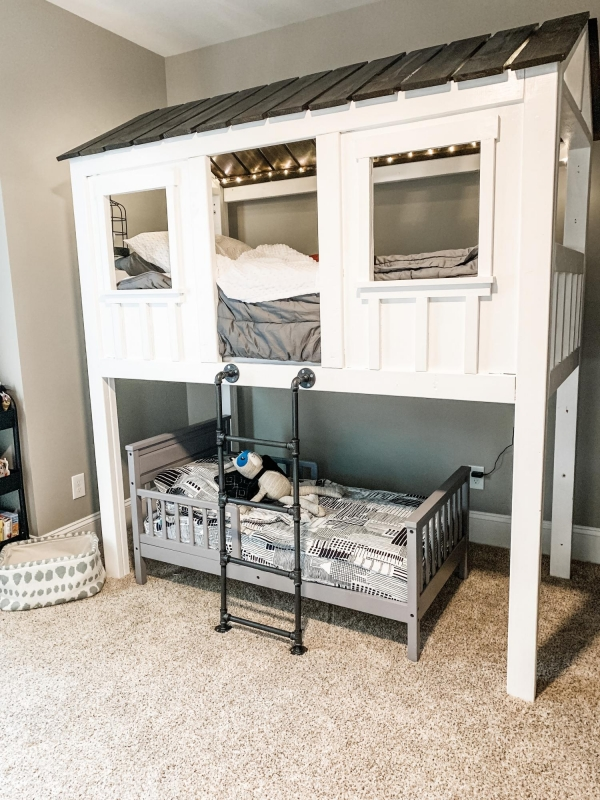 Incredible Bunk Beds with Desk Underneath On