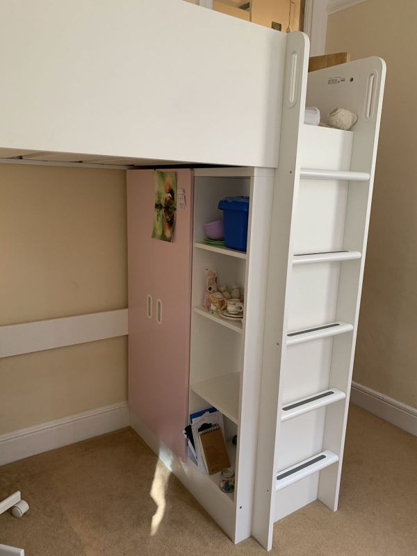 on Loft Bed with Desk and Storage id=16038