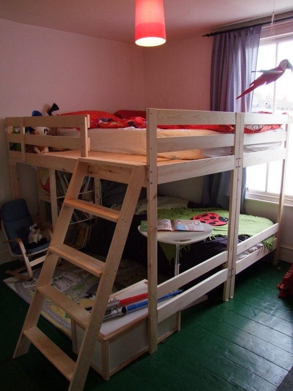 on Loft Bed with Desk and Storage id=16045