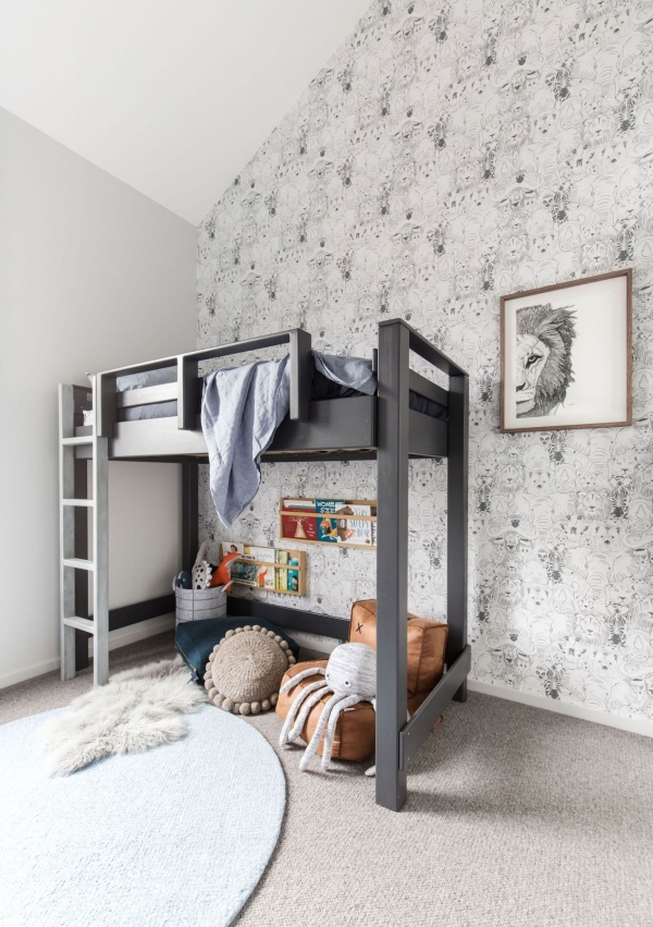 on Loft Bed with Desk and Storage id=16048