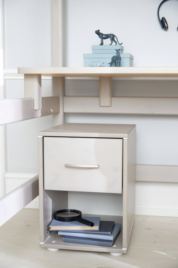 on Loft Bed with Desk and Storage id=16055