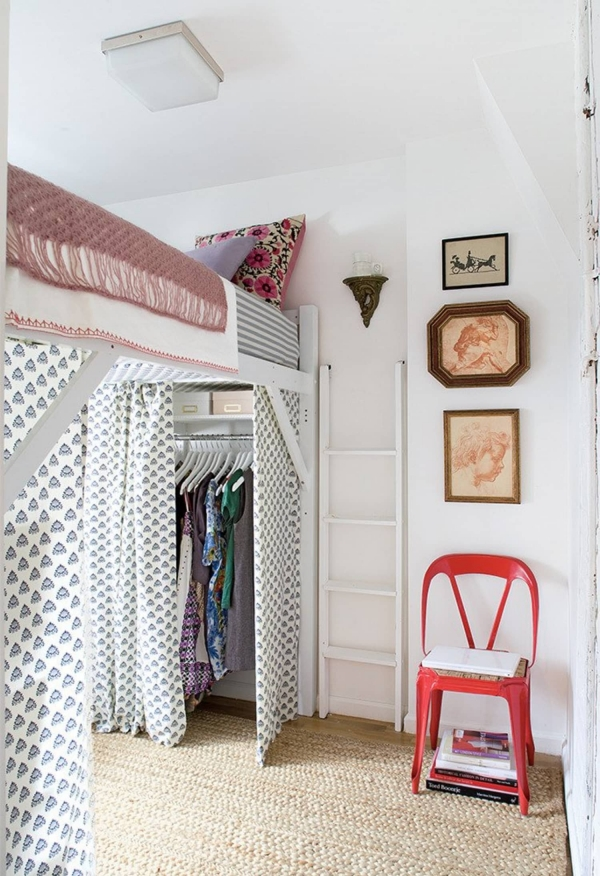on Loft Bed with Desk and Storage id=16058
