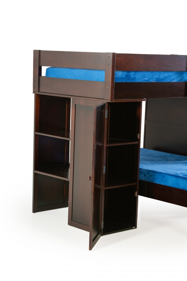 on Loft Bed with Desk and Storage id=16059
