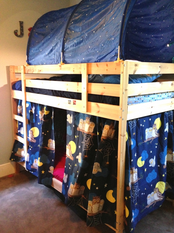 Nice-looking Loft Bed with Desk Ikea On