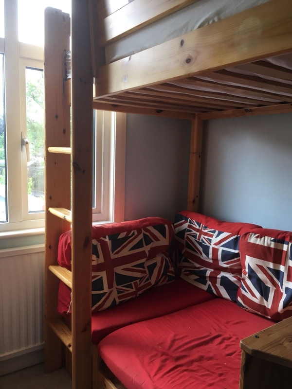Gorgeous Loft Bed with Desk Ikea On