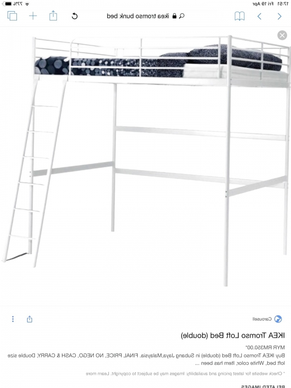 Magnificent Loft Bed with Desk Ikea On