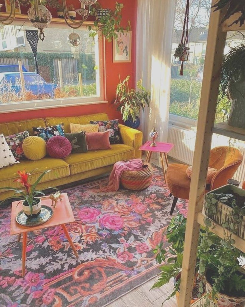 Awe-inspiring Home Decor Ideas Living Room Modern Boho area Rug with Plum Accents On Awe-inspiring 31 Best sofas to Give Statement for Your Bohemian Home Style On Home Decor Ideas Living Room Modern Boho area Rug with Plum Accents