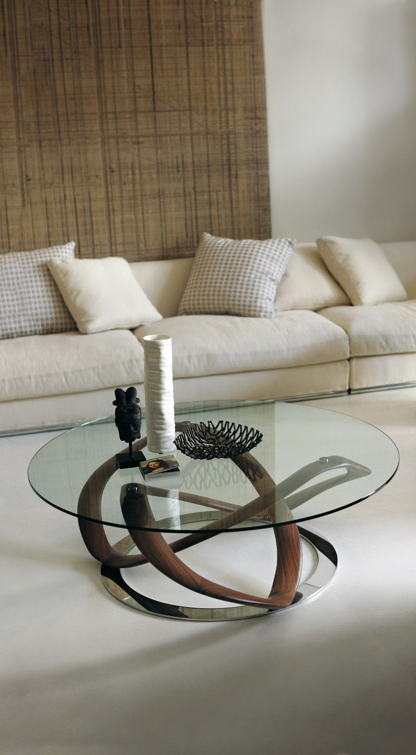 Lovely 36 Round Glass Coffee Table On Beauteous Porada Infinity Glass Coffee Table On 36 Round Glass Coffee Table