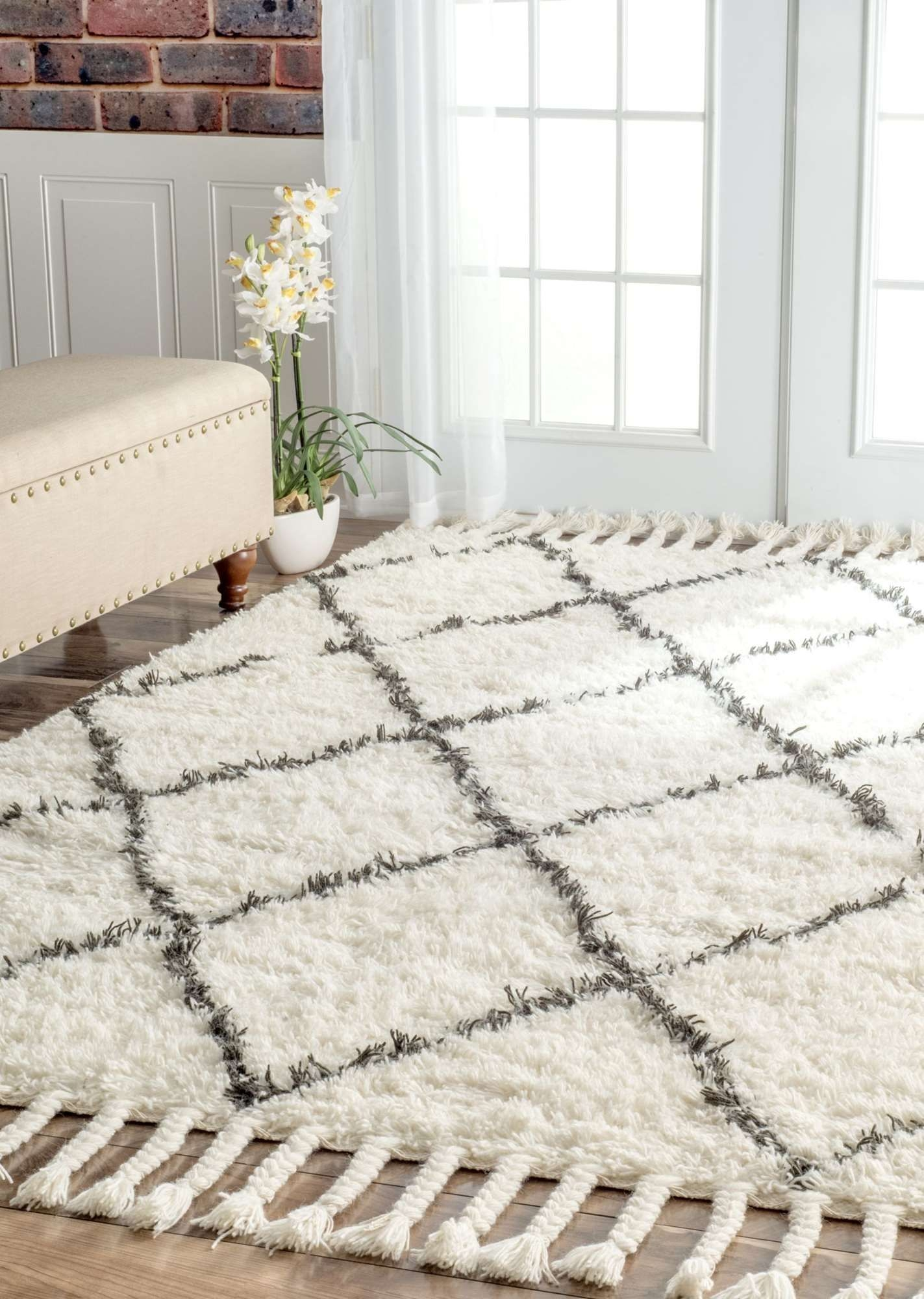 Stupendous Living Room Rugs 10x14 On Charming Marrakesh Shag Natural Rug On Living Room Rugs 10x14