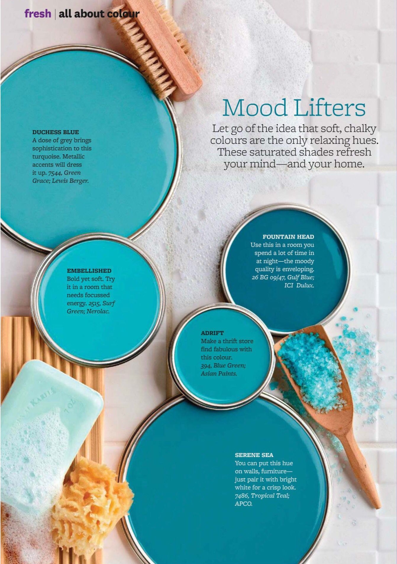 Impressive Bright Wall Colors On Engaging Paint Palette Teal Blues Turquoise Hues On Bright Wall Colors