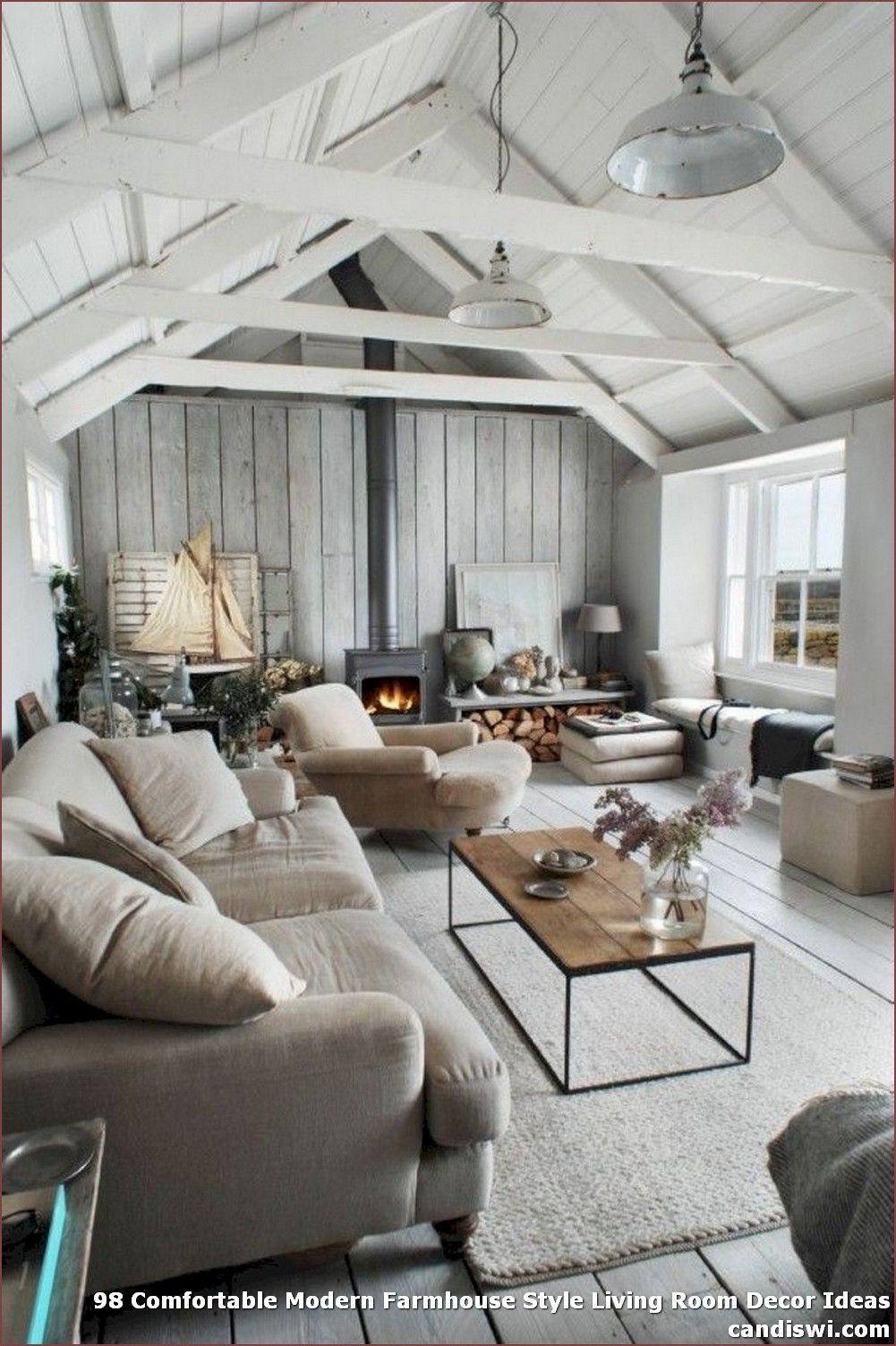 Pleasing Farmhouse Living Room Decor Images On Gorgeous ✓ 98 fortable Modern Farmhouse Style Living Room Decor On Farmhouse Living Room Decor Images
